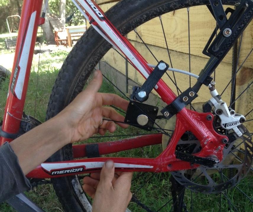 Luces en la bici del ale